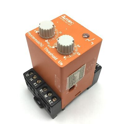 Syrelec Dir.t Current Control Relay Input 110vac Output Spdt 10a