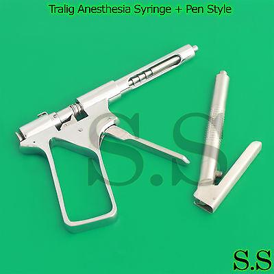 Tralig Anesthesia Syringe Pen Style Intraligamental Syringe Dental Instruments