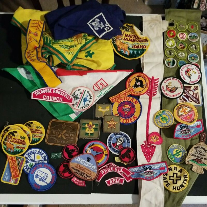 Lot of 1960s Boy Scout collectibles from Phoenix Arizona Area