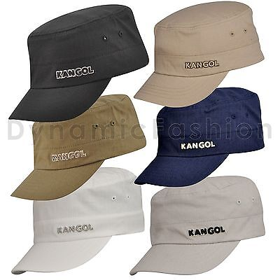 Authentic KANGOL Flexfit Cotton Ripstop Army Cap Hat K0533CO S/M L/XL  ()