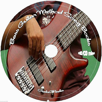 Learn Bass Guitar Method CD Music 30 Books & Lyrics Lessons Play Rock Along Tab