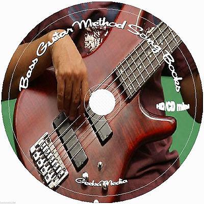 Learn Bass Guitar Method CD Music 30 Books & Lyrics Lessons Play Rock Along Tab