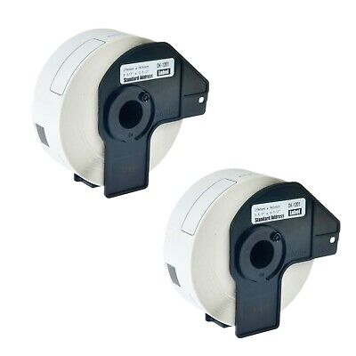 2 Roll Dk-1201 Dk1201 Shipping Labels For Brother Ql-500 1060n 550 1050n Wframe