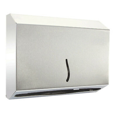 Edelstahl Papierhandtuchspender 200 Blatt / Handtuchspender / Qualität /