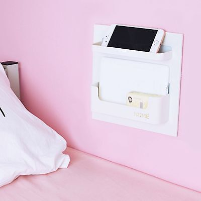 Easy Eco Life Bedside Shelf Accessories Organizer- Wall Mount Self (Eco Accessories)