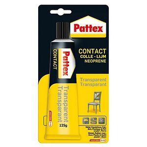 pattex colle neoprene contact transparente 125 gr bois plastique cuir ref 375386 ebay. Black Bedroom Furniture Sets. Home Design Ideas