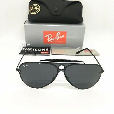 Ray-Ban Sunglasses Blaze Shooter RB3581  Size (3232) Black Gray Lenses (Sunglasses Blaze)
