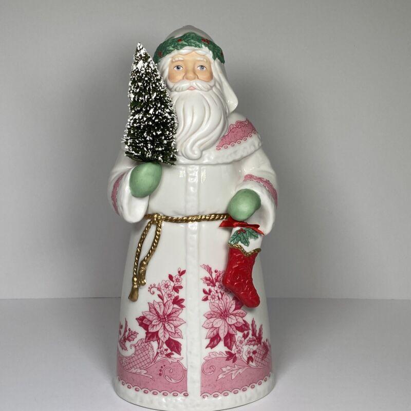 """Christmas Santa Clause From Around The World 12"""" England Hallmark 2013 Ceramic"""