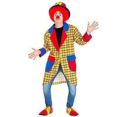 Herrenkostüm Clown Clownkostüm Harlekin Fasching Karneval Herren Kostüm Zirkus
