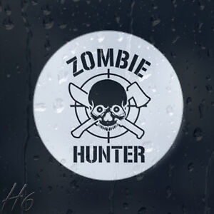 Zombie-Skull-Hunter-Target-Car-Decal-Vinyl-Sticker