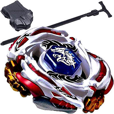 Meteo L-Drago LW105LF Metal Masters Beyblade STARTER SET w/ Launcher & Ripcord