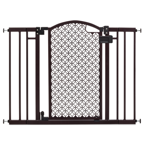 Summer Infant Modern Home Decorative Walk Thru Baby Gate, 28