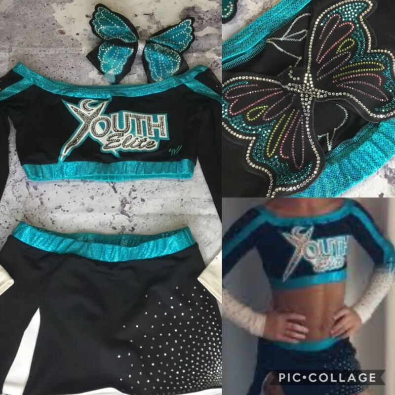 Real Cheerleading Uniform  Cheer Extreme Youth Elite Youth L