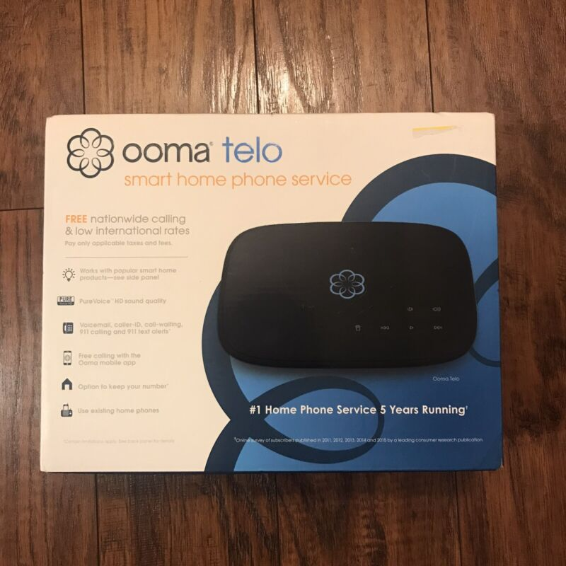 Ooma Telo Smart Phone Home Service New