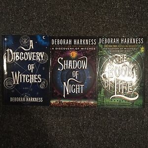 A discovery of witches trilogy by Deborah Harkness for sale