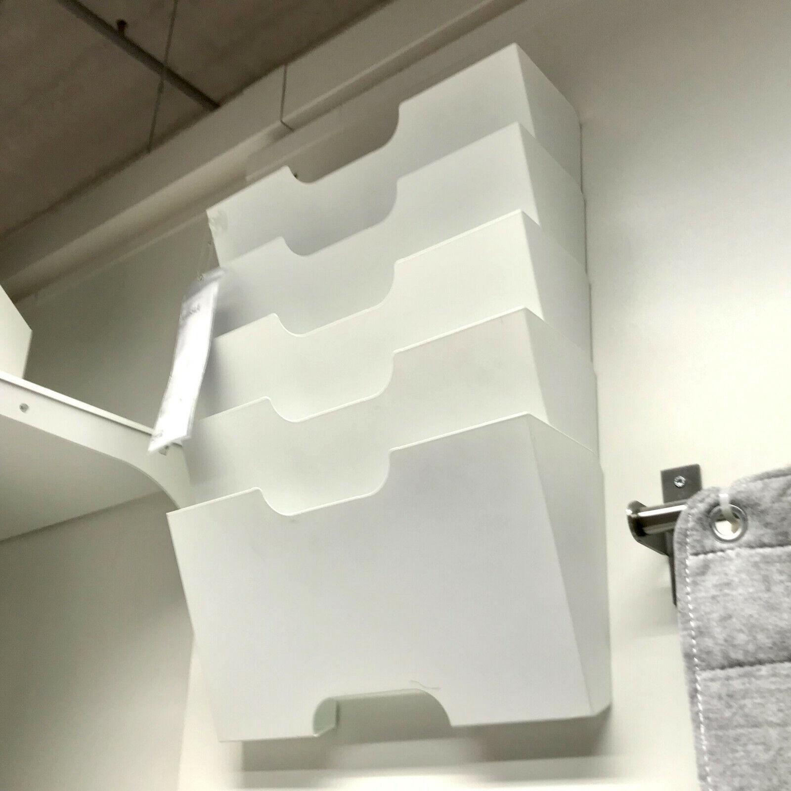 IKEA KVISSLE Zeitungshalter Prospekthalter Zeitschriftenhalter Wanddeko PRAXIS