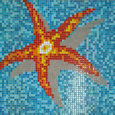 Schwimmbad Pool Mosaik Seestern Outdoor Sauna DIY (Sauna Diy)
