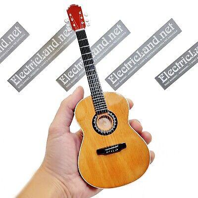 Mini Guitar scale 1:4 PACO DE LUCIA flamenco spagna miniature gadget collectible - Flamenco Guitar Scales
