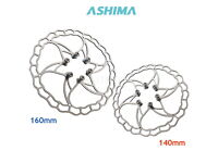 ASHIMA AiNEON  Best Heat Dissipation Disc Rotor 160mm 140mm RED BLACK BLUE GOLD