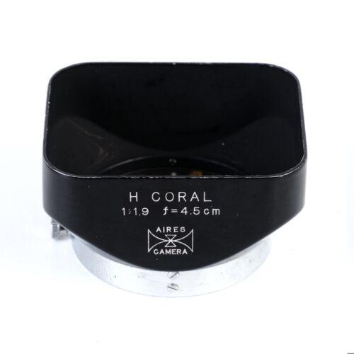 :AIRES Genuine Metal Lens Hood for H Coral 4.5cm 45mm f1.9 Lens