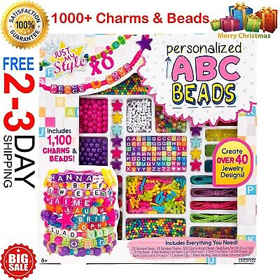 Fun Toys For 10 Year Olds (Gift Set For Girl Jewelry Making Kit Pretend Play Toy 5 6 7 8 9 10 11++ Year)