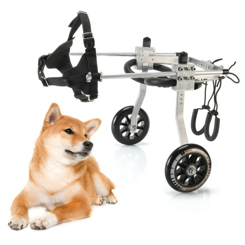 Large Size Light Aluminum Alloy Pet Dog Wheelchair for Handicapped Hind Legs