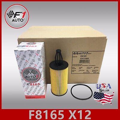 F8165(X12PCS) Perquisite OIL FILTER for MERCEDES-BENZ C300 C350 C400 & C450 AMG