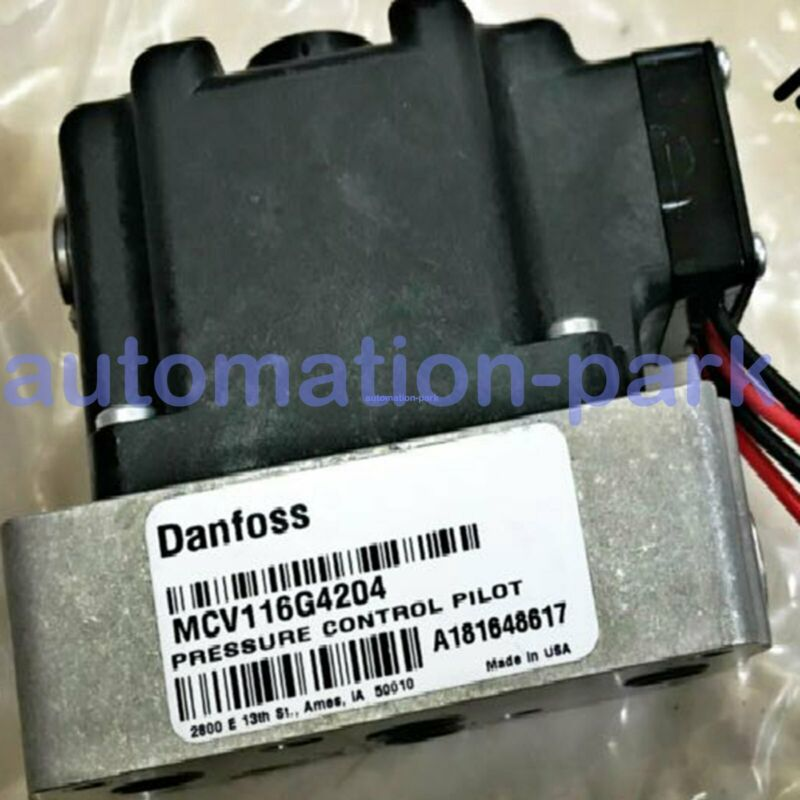 Brand NEW DANFOSS PRESSURE CONTROL VALVE MCV116G4204 DHL Fast delivery