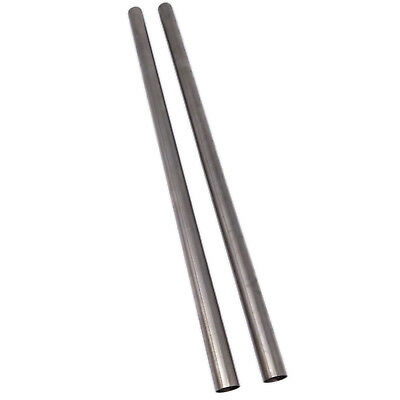 Us Stock 2pcs Od 10mm Id 9mm Length 250mm 304 Stainless Steel Capillary Tube