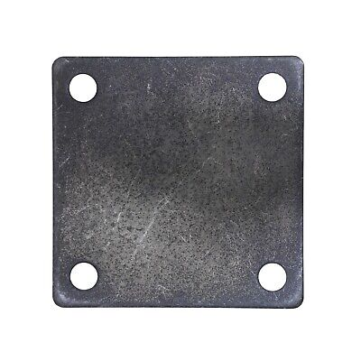 Flat Square Steel Metal Base Plate 5 X 5 X 14 Thickness 38 Hole Qty 4