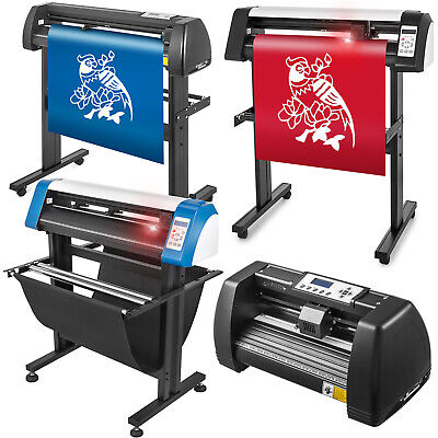 Vinyl Cutter Plotter Cutting 14/28/34/53 inch Sticker Making Print 3 Blades Usb