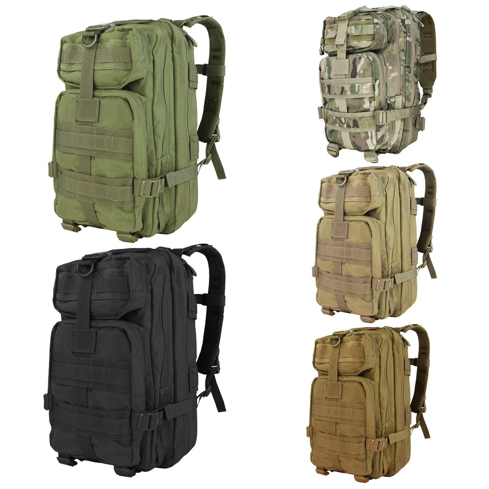 0d44bd44cbe2 Condor 126 Tactical MOLLE Compact Mission Assault Hiking Pack Camping  Backpack