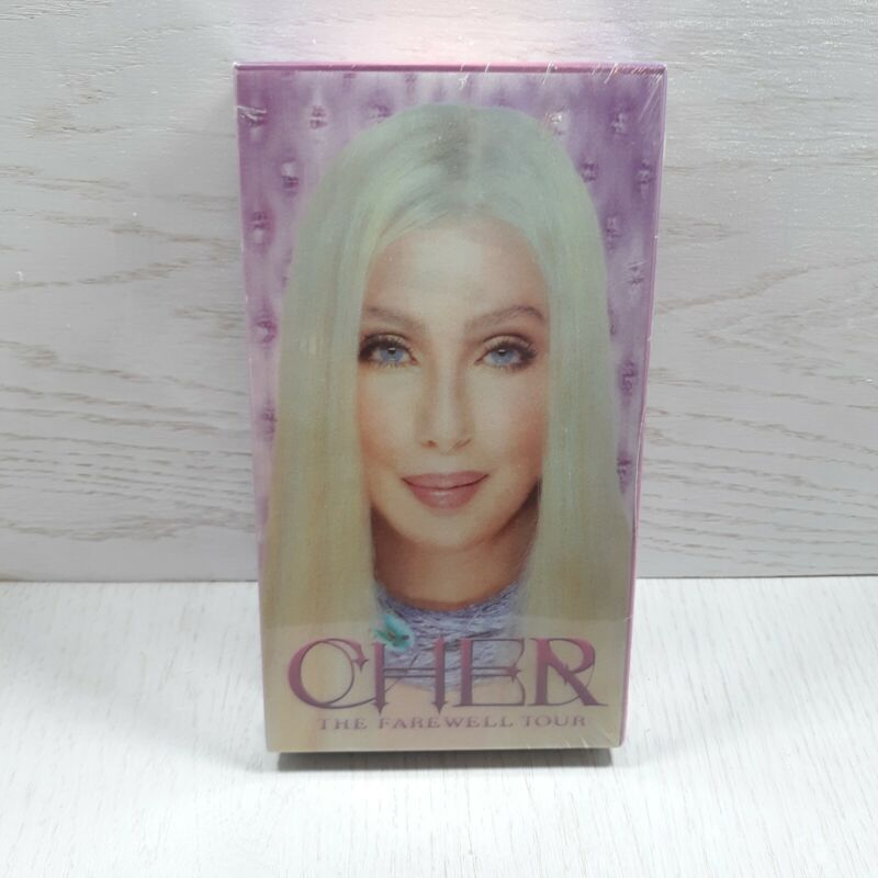 *SEALED* Cher Farewell Tour VHS