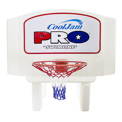 Swimline Super Wide Cool Jam Pro Inground Swimming Pool Basketball Hoop | (Swimline Pool Jam)