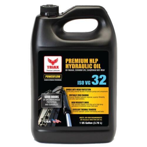 TRIAX POWERFLOW™ AW 32 6000 HE HYDRAULIC OIL DOUBLE ANTI-WEAR -46 F Flow (1 GAL)