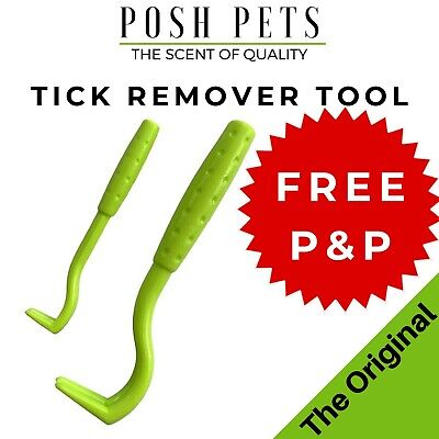 DOG CAT HUMAN TICK REMOVER REMOVAL TOOL No.1 Tick Treatment 2 HOOK Pack