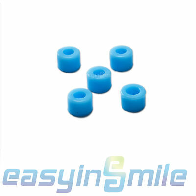 50pcspack Dental Lab Instrument Silicone Color Code Rings Small Easyinsmile