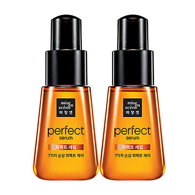 Miseenscene Perfect Serum Hair Essence Original Damage Care 2.37fl oz  2 ea