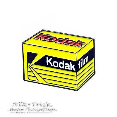 Kodak Gold Film ~ Enamel Pin Badge ~ Top Quality & Really Lovely!