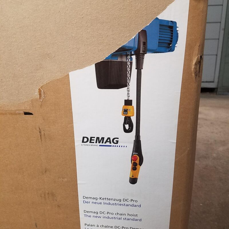 Demag DC-Pro 10-700 1/1 H5 V7.2/1.8 440-480 Electric Hoist. #396880-7500044-01