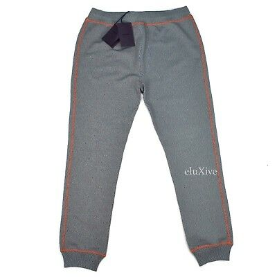 NWT $780 PRADA Men's TV Static Multicolor Knit Jogger Pants Sweatpants AUTHENTIC