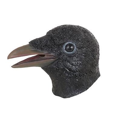 Lustig Latex Tier Erwachsene Kostüm Krähe Maske Kostüm Vinyl Weich - Krähe Kostüm Maske