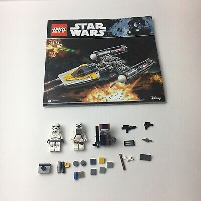Lego Star Wars Y-Wing Starfighter (75172) *MINI FIGURES*  *BOOKLET* *PARTS