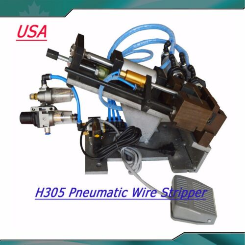 Pneumatic Wire Stripper Cable Stripper Air Wire Stripping Machine H305 110V