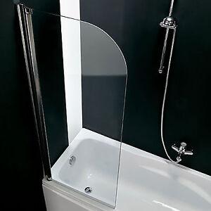 Sopravasca parete 67 cm girevole per vasca da bagno cristallo anticalcare novità  eBay