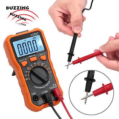 Trms Digital Multimeter Acdc Voltage Meter Temperature Capacitance Diode Tester