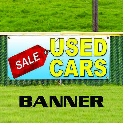 Used Cars On Sale Now  Business Promotional Advertising Vinyl Banner Sign