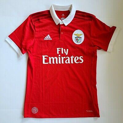 2017-18 Benfica Home FOOTBALL SHIRT SOCCER JERSEY Adidas SMALL NEW image