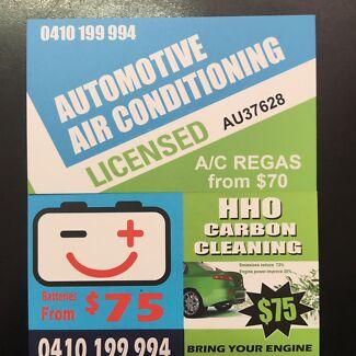 Aircon Regas , A/c Regas , air-Con , log book service ,  car service ,