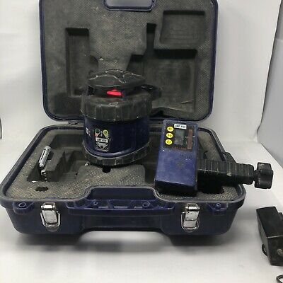 Line Site Lsl-105 Laser Level Construction Self Rotating With Receiver